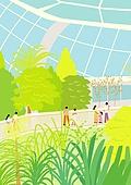 서울 (대한민국), 랜드마크, 봄, 풍경 (컨셉), 식물원