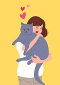 사람, 반려동물, 자랑, SNS (기술), 반려동물 (길든동물), 고양이 (고양잇과)
