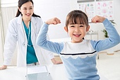 병원, 진찰 (치료), 의사, 소녀