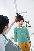 병원, 진찰 (치료), 의사, 키재기자 (간격표시도구)