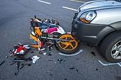 교통,교통사고,도로,사고,실외,오토바이,자동차,제주도,클로즈업,한국,국내여행
