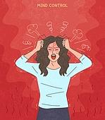 화, 화 (컨셉), 분노조절장애