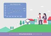 사회양극화 (사회이슈), 수도 (주제), 인구절벽 (컨셉), 사회이슈 (주제), 그래프, 인포그래픽 (시각교재), 노인 (성인)