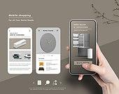 그래픽이미지, 편집디자인, 모바일쇼핑, 스마트폰, 웹모바일 (이미지), 세일 (상업이벤트), 생활용품