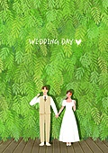 결혼 (사건), 결혼, 부부, 신혼부부, 스몰웨딩, 포즈 (몸의 자세), 웨딩드레스 (드레스)