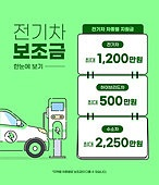 전기자동차 (자동차), 보조금, 지속가능한생활, 자동차 (자동차류), 안내 (컨셉), 전기자동차충전소 (교통수송시설)
