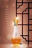 뷰티, 한방화장품, 고급 (컨셉), 광고, 빛 (자연현상)
