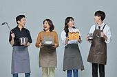 한국인, 상인 (소매업자), 미소, 밝은표정
