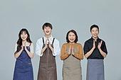 한국인, 상인 (소매업자), 희망 (컨셉), 즐거움, 박수