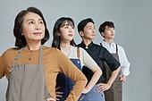 한국인, 상인 (소매업자), 자신감, 자신감 (컨셉)