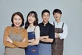 한국인, 상인 (소매업자), 함께함 (컨셉), 자신감