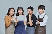 한국인, 상인 (소매업자), 지원금, 기쁨, 디지털태블릿 (개인용컴퓨터)