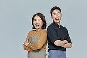 한국인, 상인 (소매업자), 자신감 (컨셉), 미소, 밝은표정