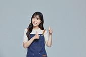 한국인, 20대 (청년), 청년 (성인), 스타트업 (소기업), 상인 (소매업자), 시간제근무 (직업), 넘버원, 미소