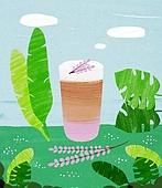 여름, 음료, 차가운음료 (무알콜음료), 치즈나무 (열대관목)
