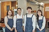 한국인, 상점, 시간제근무 (직업), 소유자 (직업), 미소, 밝은표정