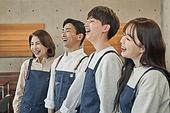 한국인, 상점, 시간제근무 (직업), 소유자 (직업), 미소, 희망 (컨셉)
