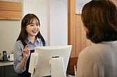 한국인, 여성, 지불 (구매), 상인 (소매업자)