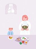요리 (음식상태), 건강관리 (주제), 요리하기, 샐러드, 어린이 (나이), 육아, 엄마