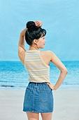 여름, 해변 (해안), 웃음, 여성 (성별), 시원함 (컨셉), 상업이벤트