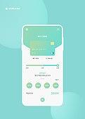 지불 (구매), 신용카드결제 (신용카드), 모바일결제 (금융아이템), 신용카드