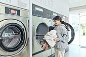 무인세탁소,빨래, 세탁기, 빨래바구니, 건조기, 세탁업자 (가게)