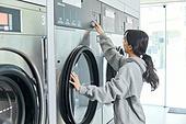 무인세탁소, 빨래, 세탁기, 빨래바구니, 건조기, 세탁업자 (가게)