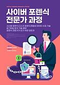 포스터, 미래신종직업 (직업), 4차산업혁명 (산업혁명), 과학수사, 범죄, 범죄수사 (주제)