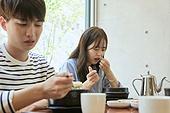 한국인, 식사, 남성, 여성, 미식 (식사), 나쁜상태 (상태), 부패