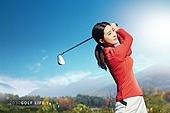 골프, MZ세대, 운동, 골프장, 풍경 (컨셉)