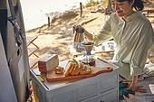 캠핑, 차박캠핑 (캠핑), 감성, 즐거움, 편안함 (컨셉), 휴식, 브런치 (식사), 듣기 (감각사용)