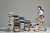 어린이 (나이), 초등학생, 초등교육, 교육 (주제), 공부 (움직이는활동), 학생, 창의성, 소녀 (여성), 호기심, 도전