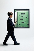 한국인, 어린이 (나이), 미술관 (박물관), 미술 (미술과공예), 예술품 (인조물건), 전시 (문화와예술), 투자, 부귀 (컨셉), 창의성, 걷기, 스마트폰