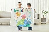 어린이 (나이), 초등학생, 회화기법 (이미지), 크레파스 (필기구), 초등교육, 교육 (주제), 창의성, 환경, 환경보호 (환경), ESG (컨셉)