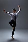 한국인, 남성 (성별), 사람, 비즈니스맨 (사업가), 도전, 열정 (컨셉), 비즈니스 (주제), 발레 (춤), 화이트칼라 (전문직), 활력