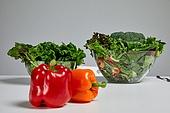 채소, 다이어트, 식사, 채소 (음식), 샐러드, 유기농, 파프리카