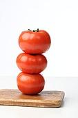유기농, 토마토, 쌓아올림 (배열)