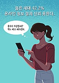 불안, 감정 (All People), 의심, 불신 (컨셉), 사람, 스마트폰
