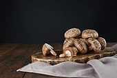 버섯 (균류), 유기농, 표고버섯, 건강식, 표고버섯 (식용버섯), 식용버섯, 도마 (요리도구)