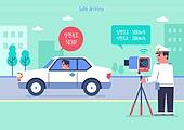 안전, 안전운전, 안전운전 (운전), 캠페인, 과속운전 (운전), 교통법규, 자동차, 경찰