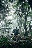 산악자전거타기 (사이클링), 성인 (나이), 남성, 도전 (컨셉), 아웃도어, 활동적인생활, 여행, 배낭여행자 (여행하기), 혼자여행 (여행)