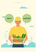 제로웨이스트, 환경보호 (환경), 환경보호, 친환경소재 (재료)