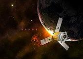 우주 (자연현상), 백그라운드, 미래, 첨단기술 (기술), 6G, 항공우주산업 (산업), 행성, 지구 (행성), 인공위성