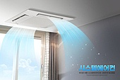 오브젝트 (묘사), 시스템에어컨, 천장 (건물특징), 여름, 가전제품 (생활용품), 바람