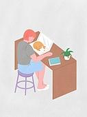 라이프스타일, 반려동물, 반려동물 (길든동물), 고양이 (고양잇과), 노트북컴퓨터 (개인용컴퓨터)
