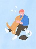 라이프스타일, 반려동물, 반려동물 (길든동물), 애완견 (개), 강아지, 인사 (제스처)
