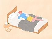 라이프스타일, 반려동물, 반려동물 (길든동물), 애완견 (개), 강아지, 침대