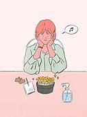 라이프스타일, 화분, 원예 (레저활동), 식물, 휴식 (정지활동), 취미, 반려식물, 콩나물