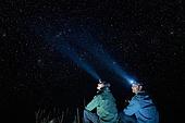 남성, 별 (우주), 여행, 밤 (시간대), 헤드램프 (손전등), 빛 (자연현상), 미소