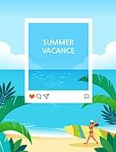 휴가, 여름, 백그라운드 (주제), 풍경 (컨셉), 휴양지, 한명, 여성 (성별), 야자나무 (열대나무), 프레임